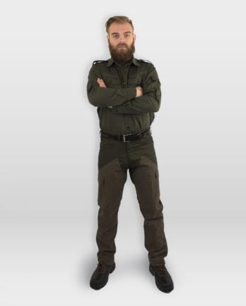 pantalone da caccia kevlar verde