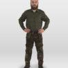 pantalone da caccia mimetico