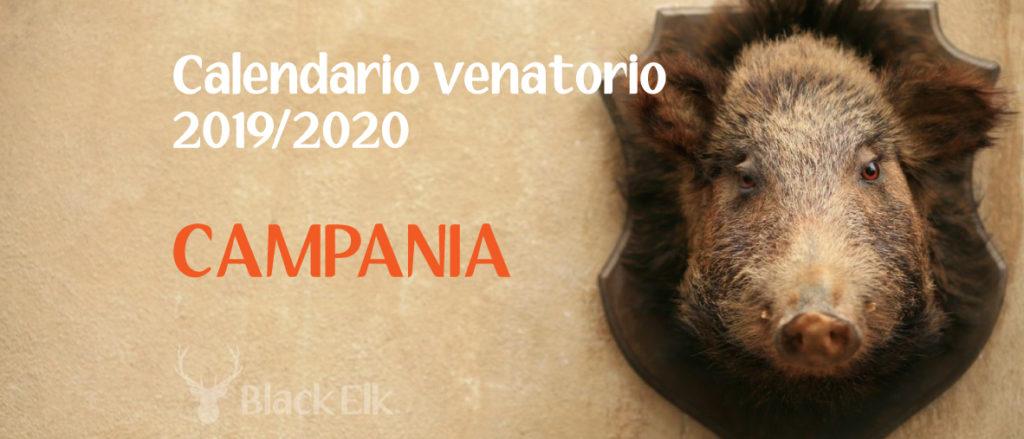 Calendario venatorio Campania
