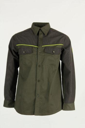 Camicia verde alta visibilità