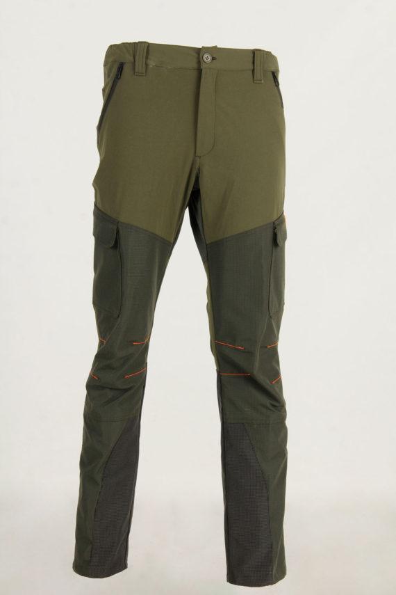 pantalone elasticizzato impermeabile da caccia
