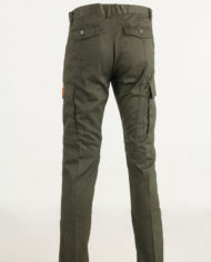 Pantalone cotone verde